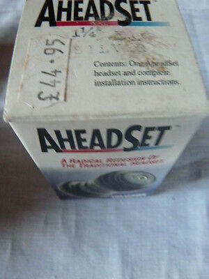 """headset AHEAD  vintage new 1 1/4"""" silver"""