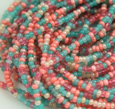 "Czech Glass Seed Beads 11/0 "" JAIPHUR MIXTURE "" 1 Hank"