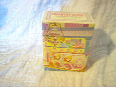 Avon Country Store Mineral Spring Bath Crystals Original Box (1/4 Full)