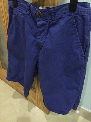 Men's Next Royal Blue Shorts Size 34