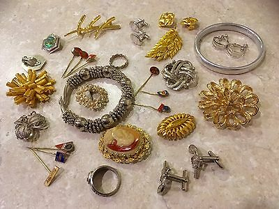 Lot Of Vintage And Costume Jewellery