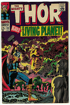The Mighty Thor Vol. 1 - #133   Ego the Living Planet Appearance   Marvel 1966