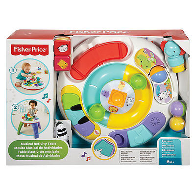 Fisher-Price Silly Safari Musical Activity Table - NEW