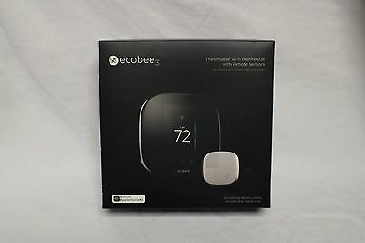 Ecobee 3 WiFi Thermostat (with Remote Sensor)