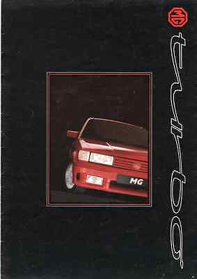 Mg Turbo Maestro (The Rarest One) Brochure Poster  (76)