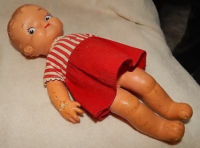 Magic Skin Ideal Doll 1940-50s Campbell Soup kids doll!