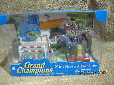 Grand Champions Mini Horse Adventure Oldenburg Horse Play Set By Empire Toys New