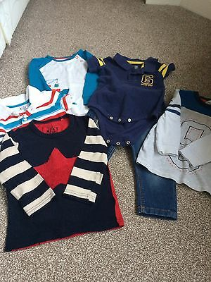 Baby Boy Clothing Bundle 12-18 Months Next Gap M&S