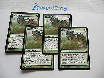 4x MTG Genju dei Cedri-Of the Cedars Magic EDH BOK Kamigawa ITA-ING Modern x4