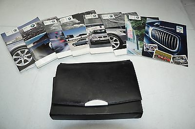 BMW 5 Series2015 Owners Manual Books W/ Navigation Case