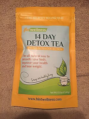 BRAND NEW - 14 Day Detox Tea - Weight Loss Tea for Body Cleanse