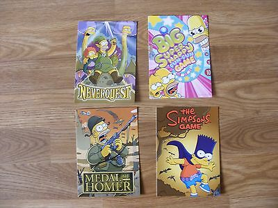 4 The Simpsons Postcards 2007 By Boomerang