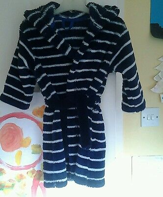 Boys dressing gown 18-24 M&S