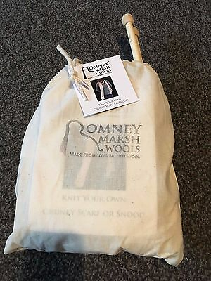 Romney Marsh Wools Knit Your Own Chunky Scarf or Snood Kit - BRAND NEW