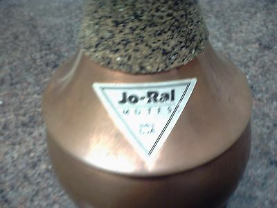 jo-ral  copper trumpet bubble-mute