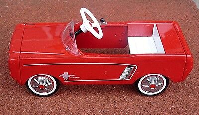 Hallmark Kiddie Car Classics 1964 1/2 Red Diecast Mustang Pedal Car Htf 13Th