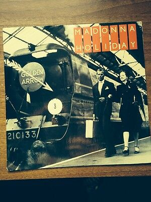 "Madonna Holiday 7"" Picture Sleeve"