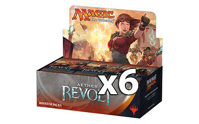AETHER REVOLT BOOSTER CASE (6 Boxes) MTG Magic - SEALED English