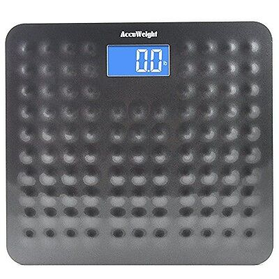 Accuweight Digital Bathroom Body Weight Scale Accurate Bathroom Scale 400lb,