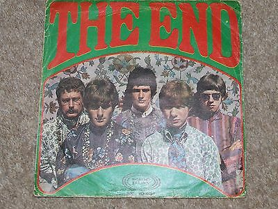 THE END = LOVING SACRED LOVING RARE 1967 SPANISH IMPORT PSYCHEDELIC 7inch