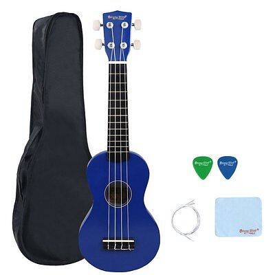 Strong Wind Soprano Ukulele 21 inch Beginer Ukulele Light Blue