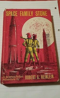 "First U.K.edition (hardback) ""Space Family Stone"" by Robert A.Heinlein."