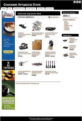 Cookware Appliances Store -Established Affiliate Website Business