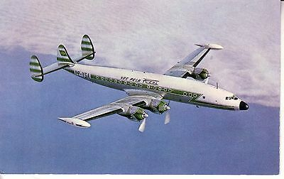 Real Constellation Super H Issue Postcard-Brazilian Airlines