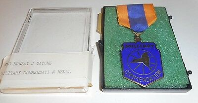 MILITARY  Commendation Medal  NUMBERED