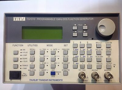 Function Generator TTI TG1010A - 10MHz DDS Programmable