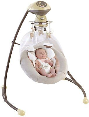 Fisher Price My Little Snugapuppy Cradle and Swing