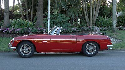 1966 Mg Mgb Real Leather Interior With Piping 1966 Mgb Sportster Rust Free Excellent Condition Very Presentable  50 + Pictures