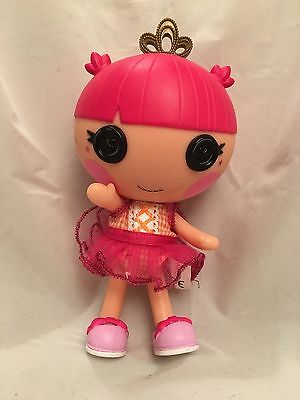 LaLaLoopsy Toy - baby doll - 7 inches - Wearing a Crown