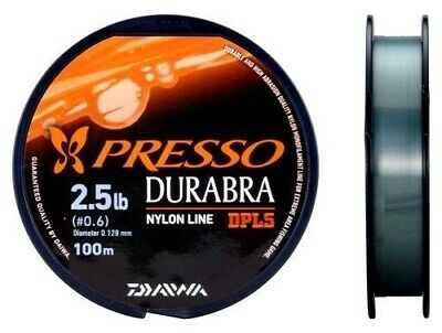 Daiwa PRESSO DURABURA 2-spool set 2lb,2.5lb 100m trout mono line from Japan 718