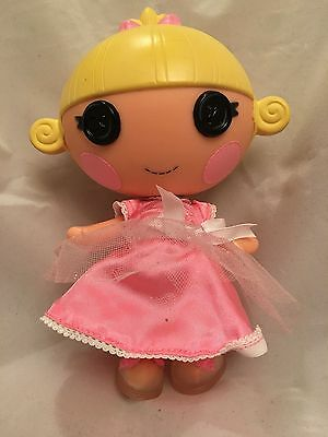 LaLaLoopsy Toy - baby doll - 7 inches - Hair in a Bow