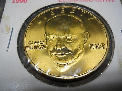 "1990 Eisenhower Commemorative Coin "" The Last Home Of Eisenhower"""
