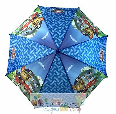 NEW!! Nick Jr.  Paw Patrol Molded Logo Handle Umbrella for Kids