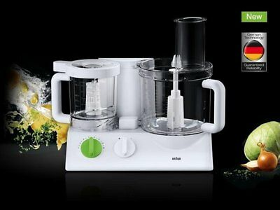 Braun FX3030WH Tribute Collection 600W Food Processor