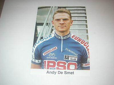 Wielrennen Cyclisme Ciclismo Radsport Cycling-ANDY DE SMET-IPSO