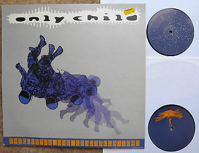 Only Child Satellites & Constellations 2Lps 2000  Near Mint Lp Justin Crawford