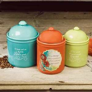 Canister Set-Woman Of Faith (Set Of 3)