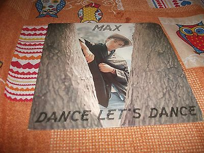 "Max -  Dance Let's Dance/for You - Very Rare 7"" Italo Disco - Italy Press Dig It"