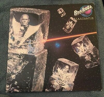 Rockets – PLASTEROID LP France / Italy 1979 electonic stampa francese