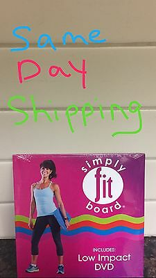 NEW & SEALED workout DVD Low Impact For Simply Fit Board SAME DAY SHIPPING !!!