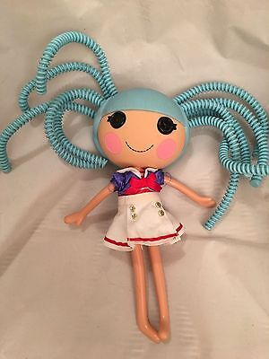 LaLaLoopsy Toy - with Blue Silly Hair - 12 inches