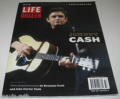 Johnny Cash Life Unseen with Rare and Never Seen Photograph 2013 Time Specials.