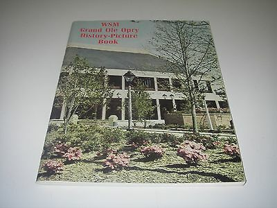 WSM Grand Ole Opry History Picture Book 1974 60 entertainer Biography Nashville.