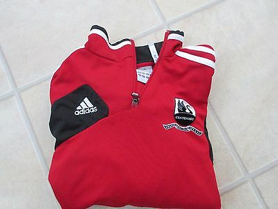 boys football shirt 11-12 y swansea city by adidas  (not playing shirt)