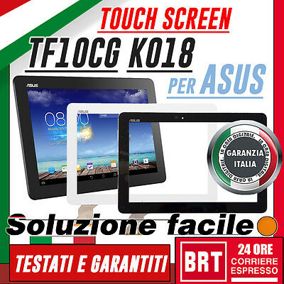 Touch Screen X Asus Transformer Pad 10,1 K018 Tf103Cg Vetro Display Schermo+Kit!