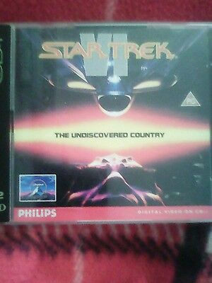 STAR TREK V1 the undiscovered country